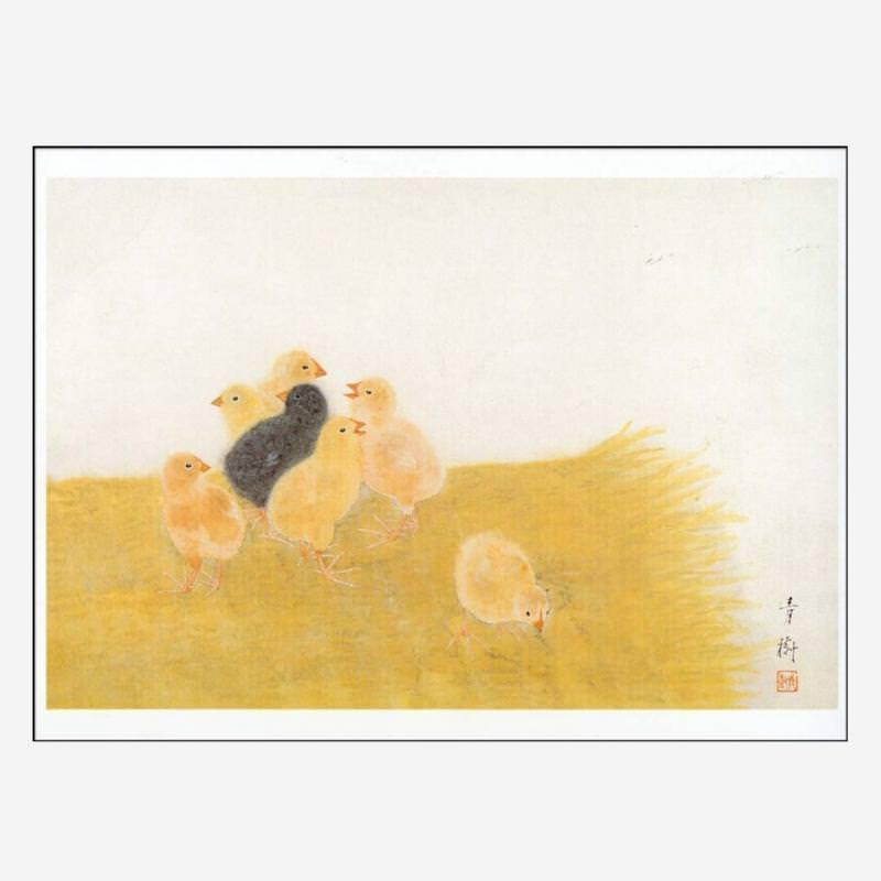 "Postkarte ""Brut"" von Seiju Omoda"