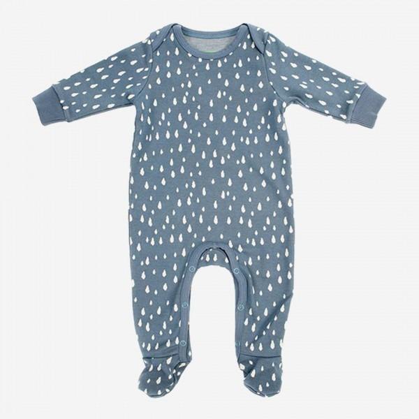Baby Anzug Olaf Regentropfen