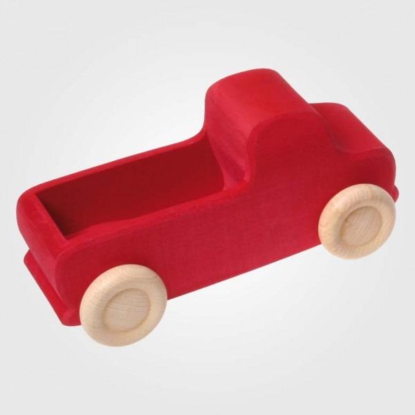 Lastwagen groß rot