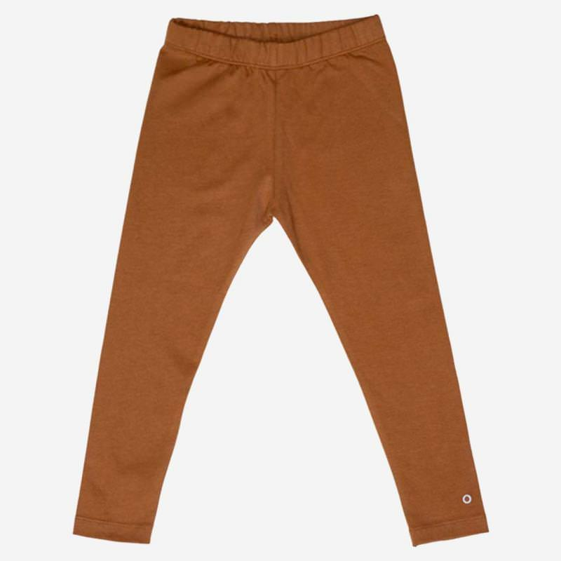 Play-all-day Leggings Baumwolle caramel cookie