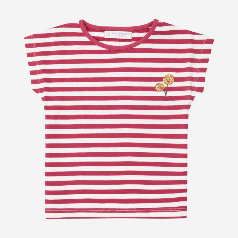 Shirt DORA pink stripes