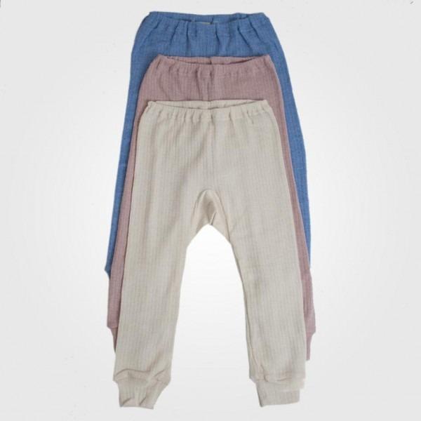 Lange Unterhose Baumwolle/Wolle/Seide