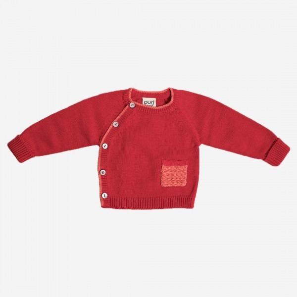 Kimono Jäckchen rot