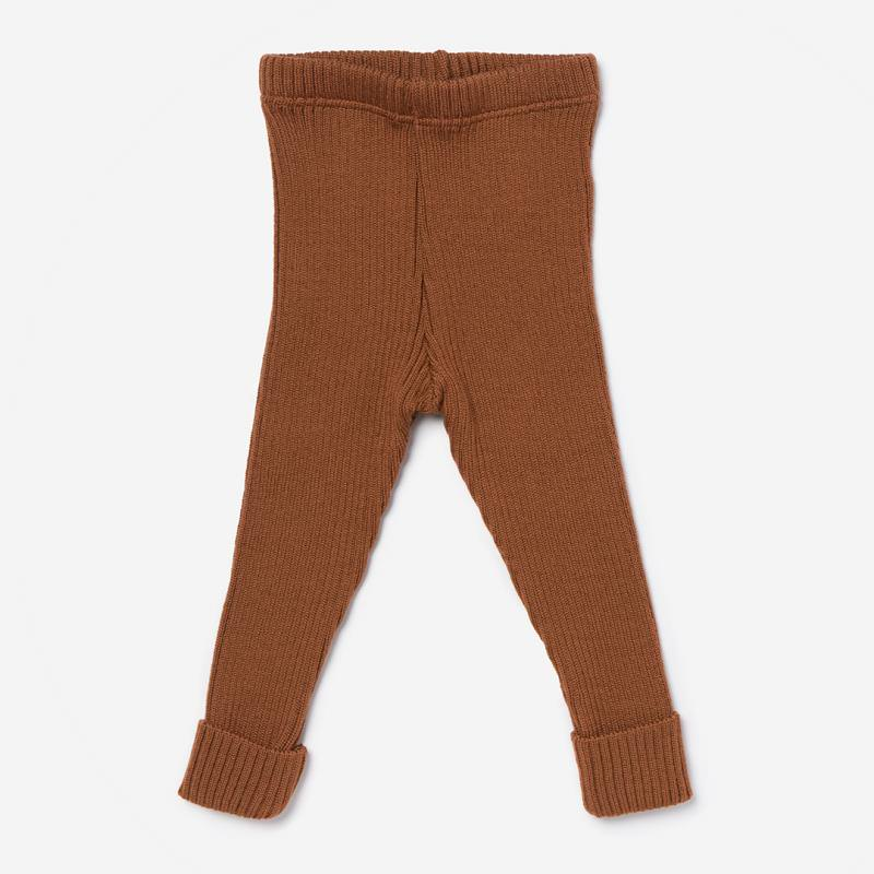 Wollleggings caramel