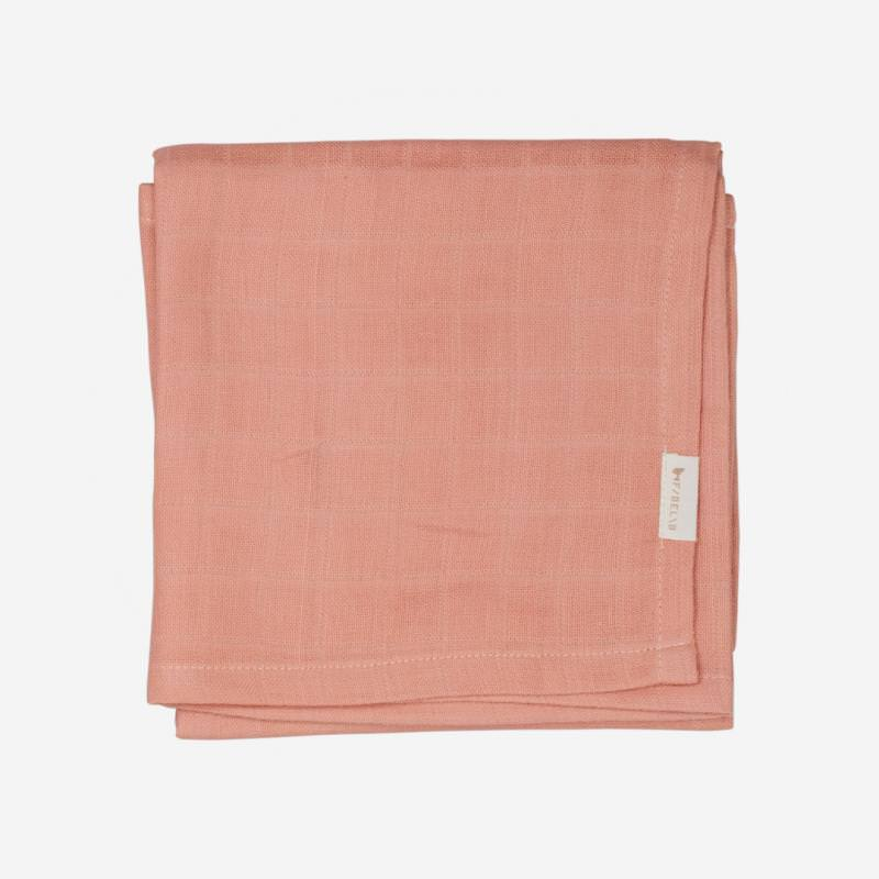 Musselin Tuch old rose