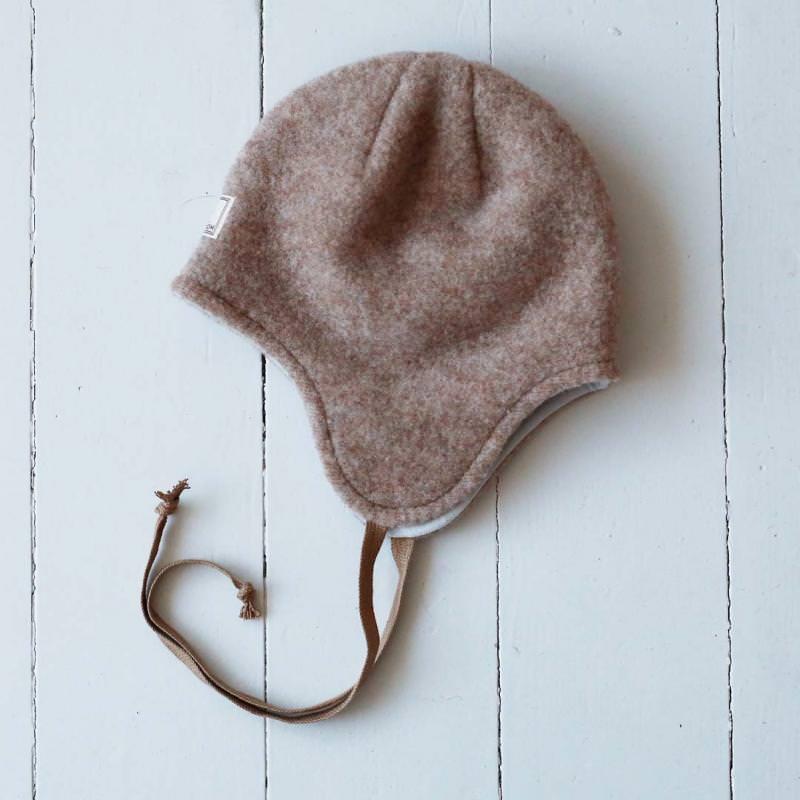 Mütze Jack Wollfleece walnuss