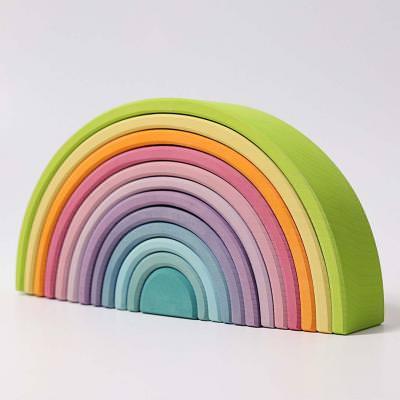 Regenbogen groß 12-teilig pastell