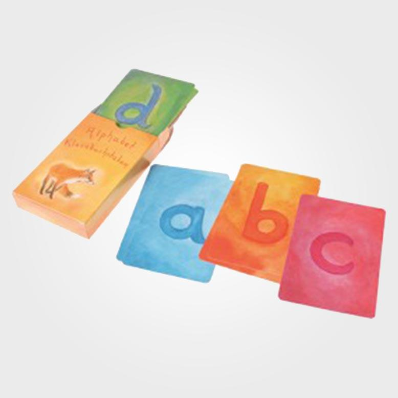 Wo Ist Das Gehirn Kartenspiel Buecherde: Alphabet Kleinbuchstaben Kartenspiel