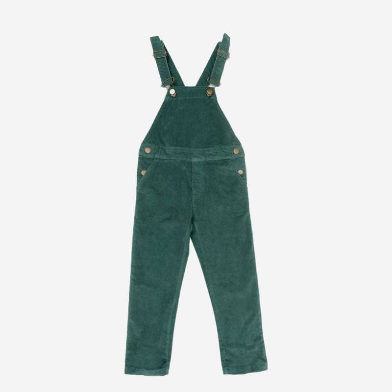 Latzhose Otto dark green