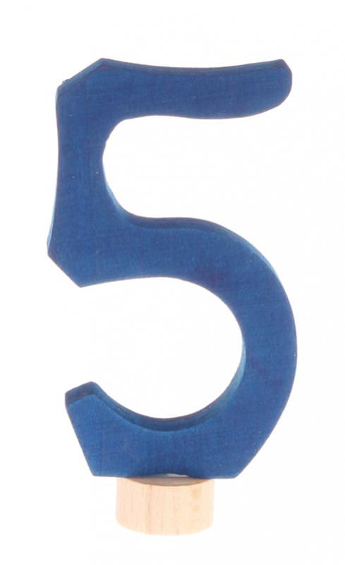 Zahlenstecker Waldorf 5
