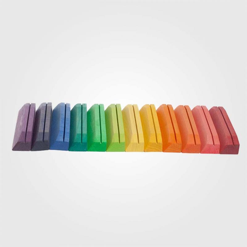 Postkartenhalter farbig