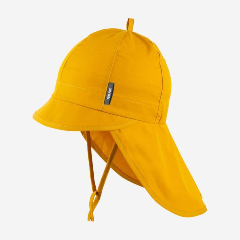 Schirmmütze mit Nackenschutz mango