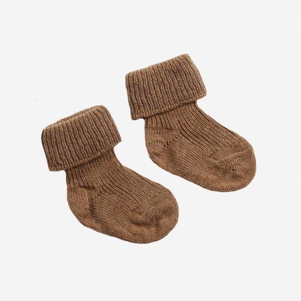 Baby Socke Kamelhaar