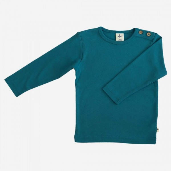 Shirt Baumwolle ozeanblau