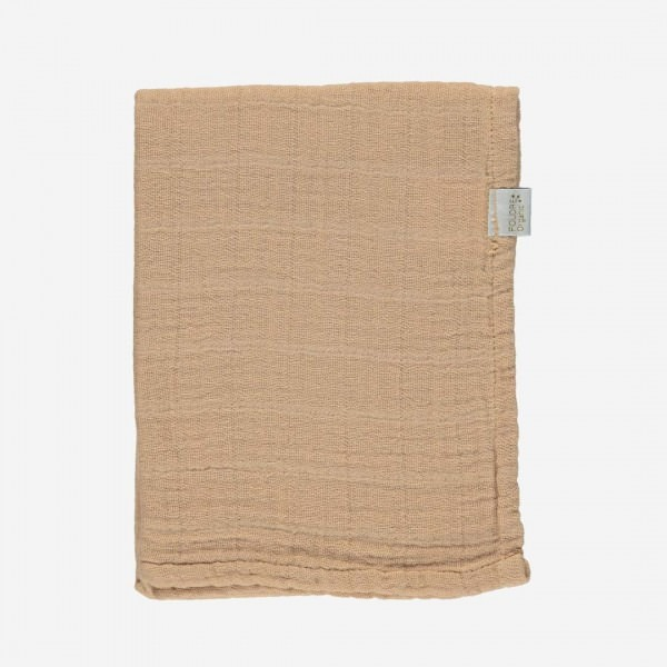 Musselin Tuch PAVOT indian tan