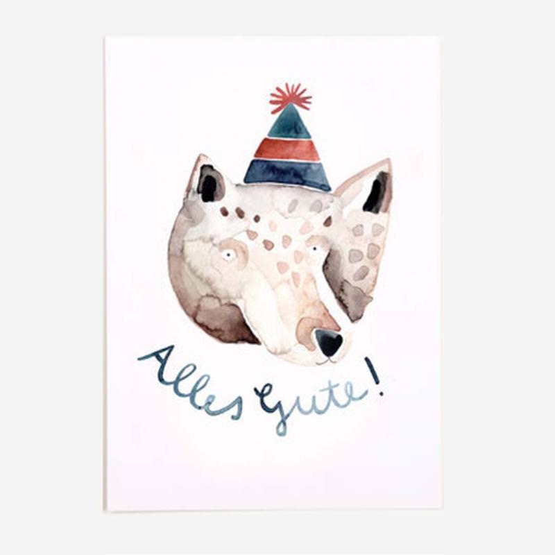 Postkarte Alles Gute