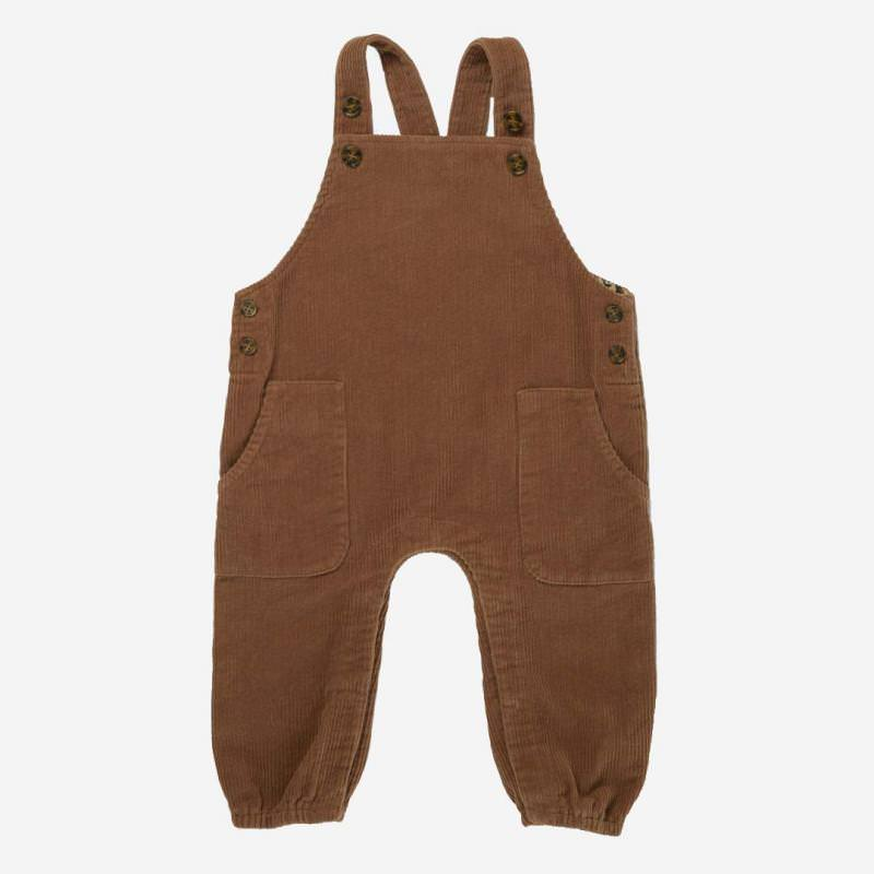 Overall SPENCER faded brown