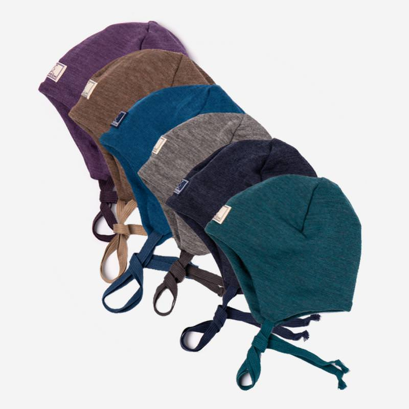 Mütze Radler Wolle/Seide