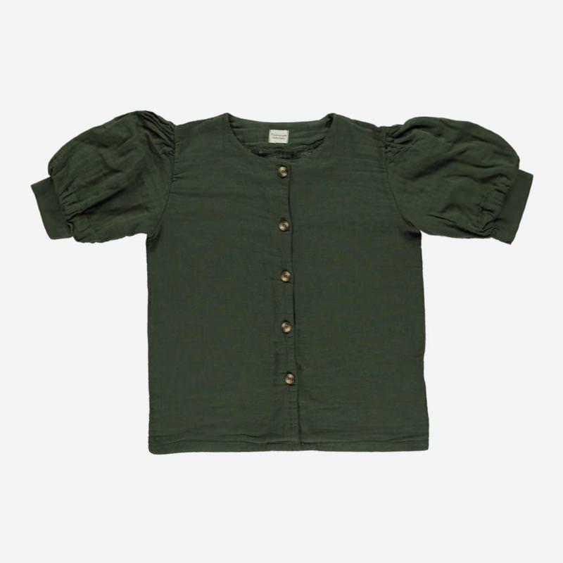 Damen Bluse POIRE forest green