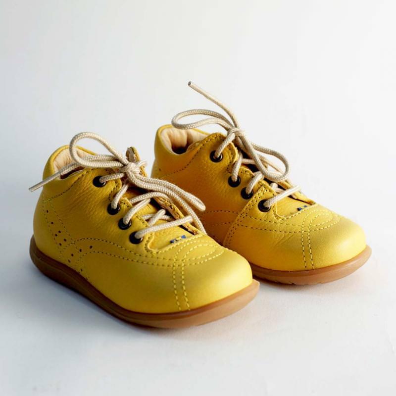 Edsbro Lauflernschuh yellow
