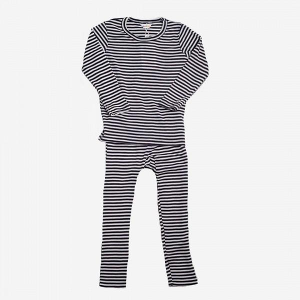 Schlafanzug 2-teilig Wolle