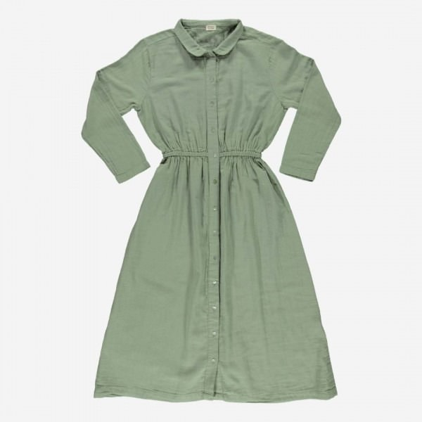 Damen Kleid ANÉMONE oil green