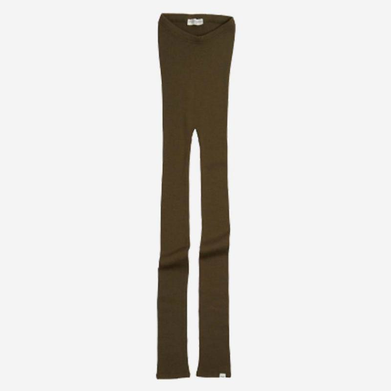 Leggings aus Wolle Arona moss