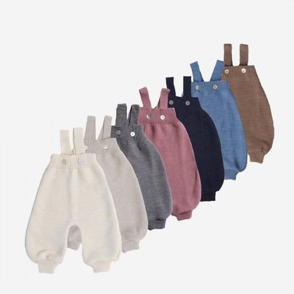 Salopette Trägerhose Wolle