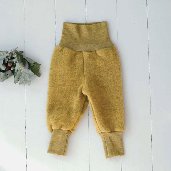 Babyhose Wollfleece safran