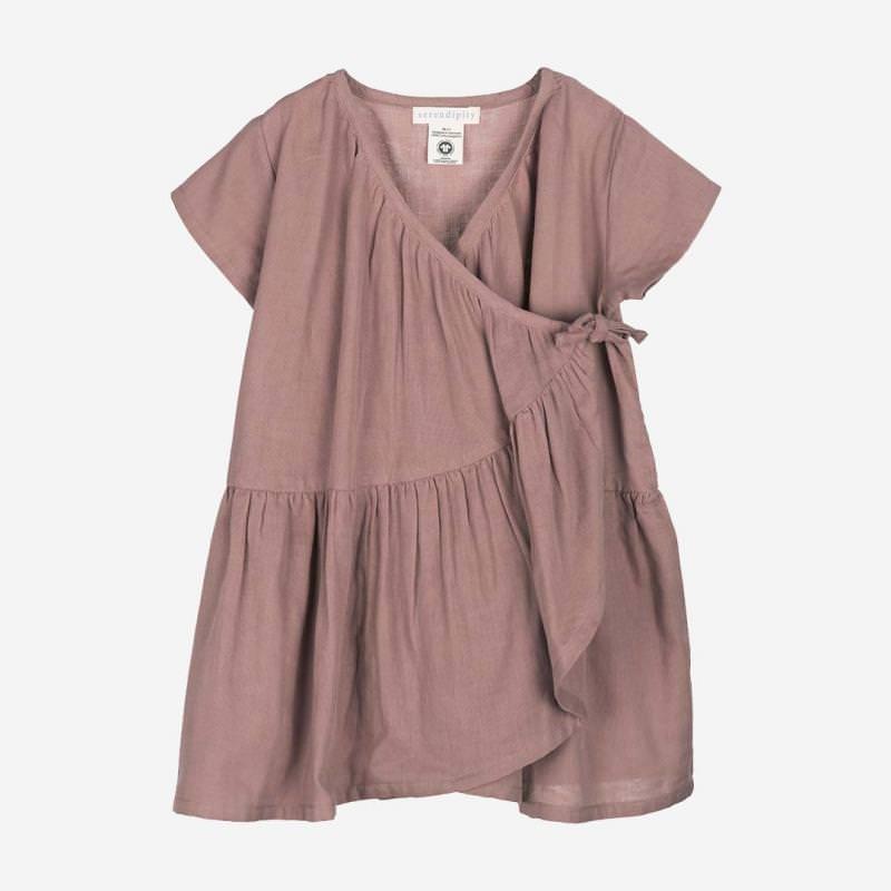 Gauze Wrap Dress