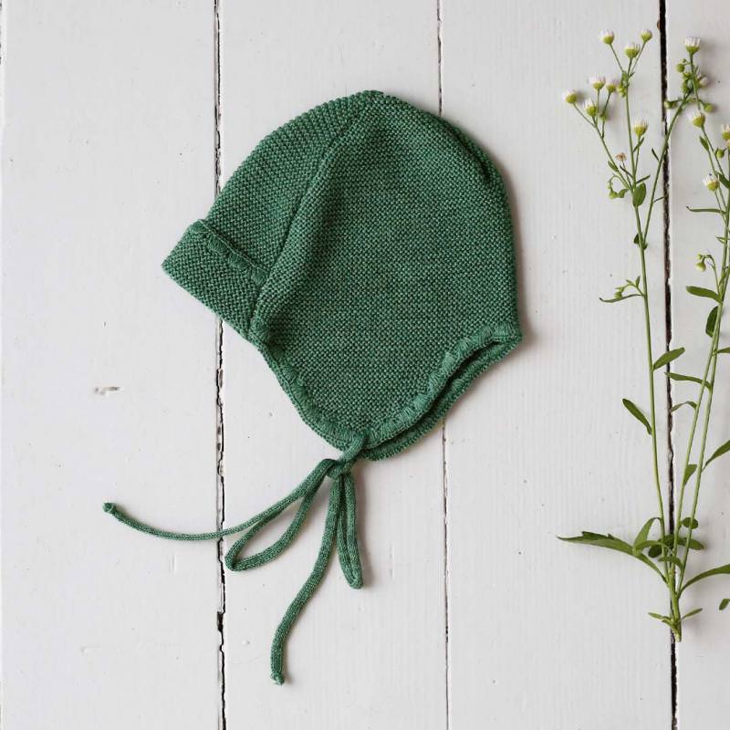 Lieblingsmütze Wolle dusty green