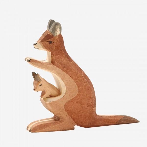 Känguru Mama mit Kind