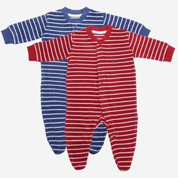 Frottee-Babyschlafanzug