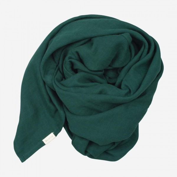 Swaddle Musselin Tuch groß evergreen