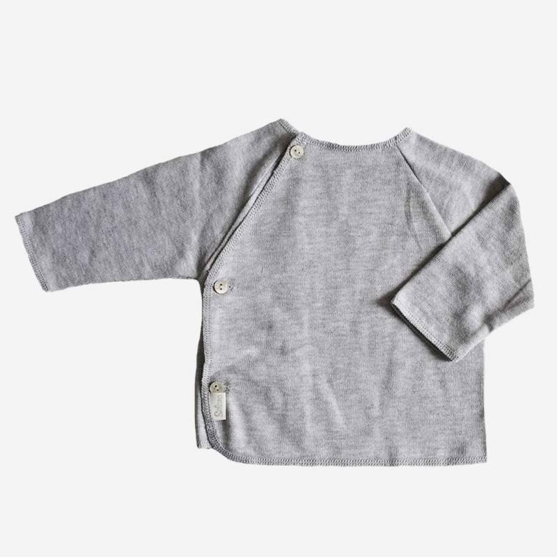 Schlüttli Baumwolle fein grau