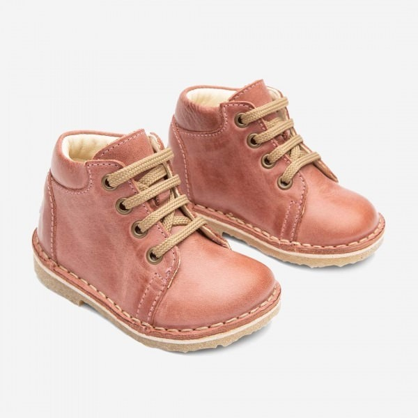 Oma Lace LUX Lauflernschuh old rose