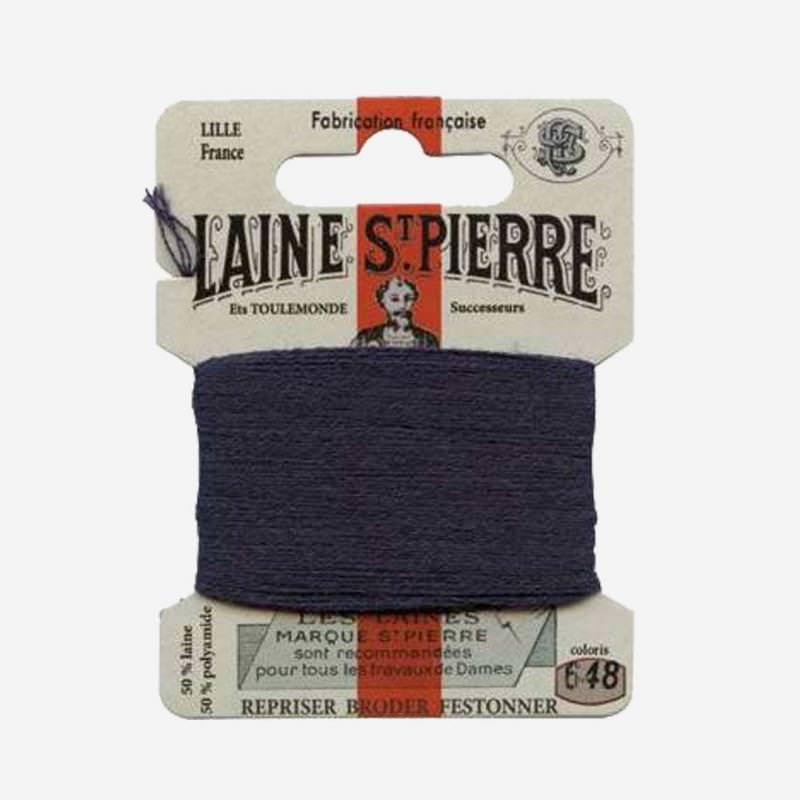 Stopfgarn von Laine Saint-Pierre in marineblau Farbnummer 648