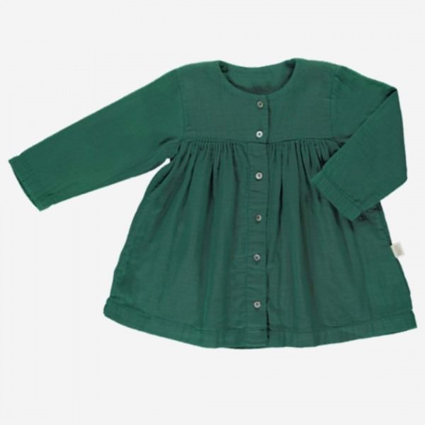 Kleid AUBÉPINE 3/4 Arm Bistro Green