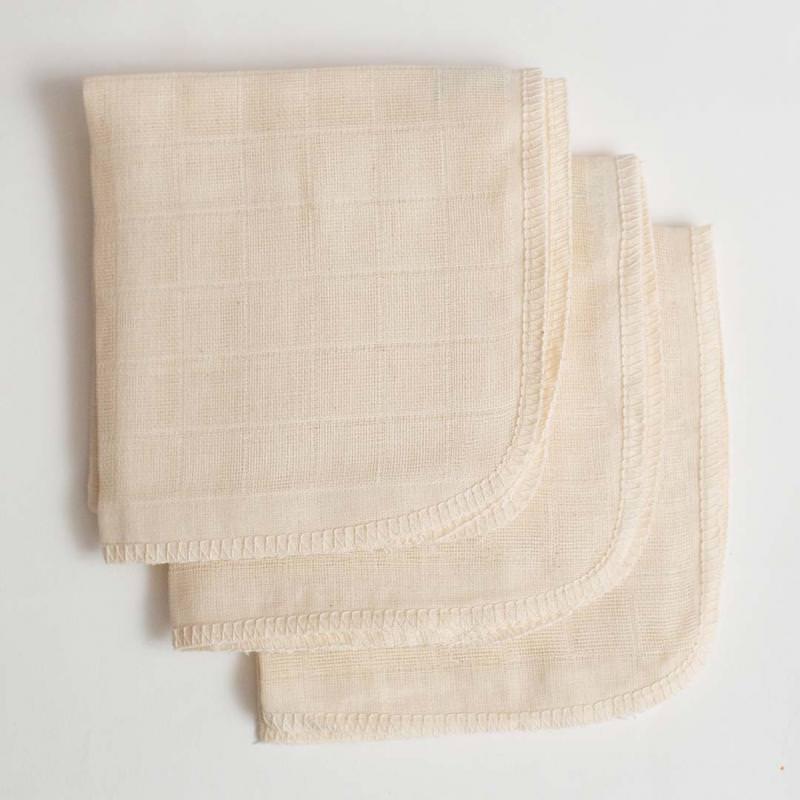 Mullwaschlappen von Disana aus Bio-Baumwolle