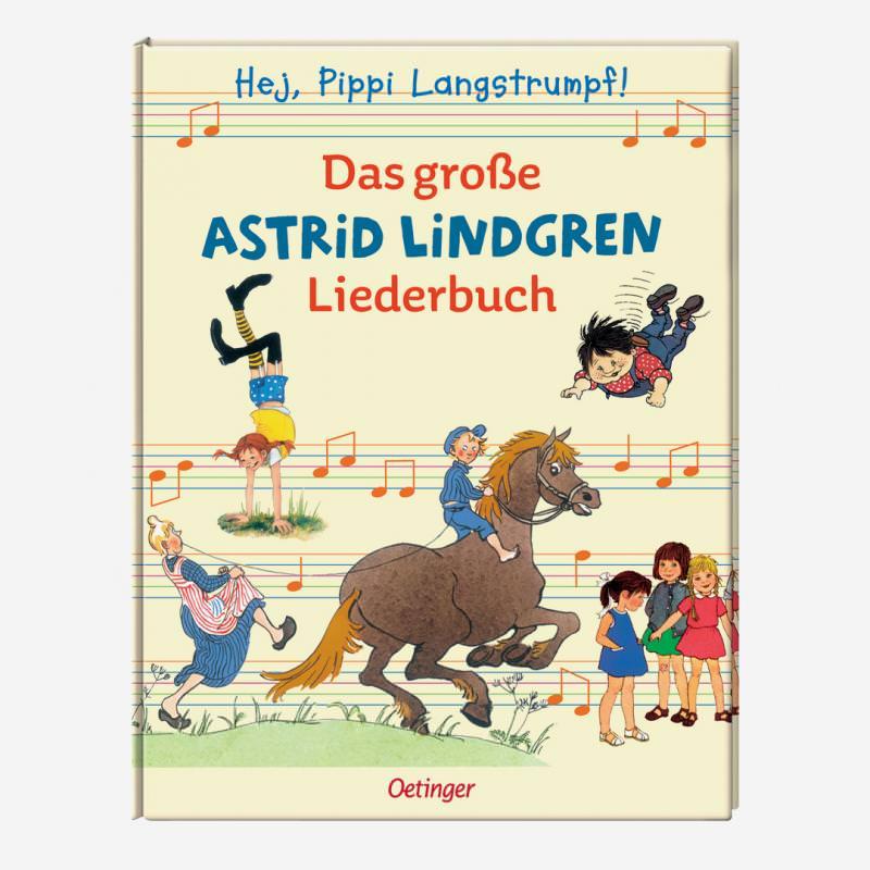 buch oetinger das große astrid lindgren liederbuch 978-3-7891-4162-1