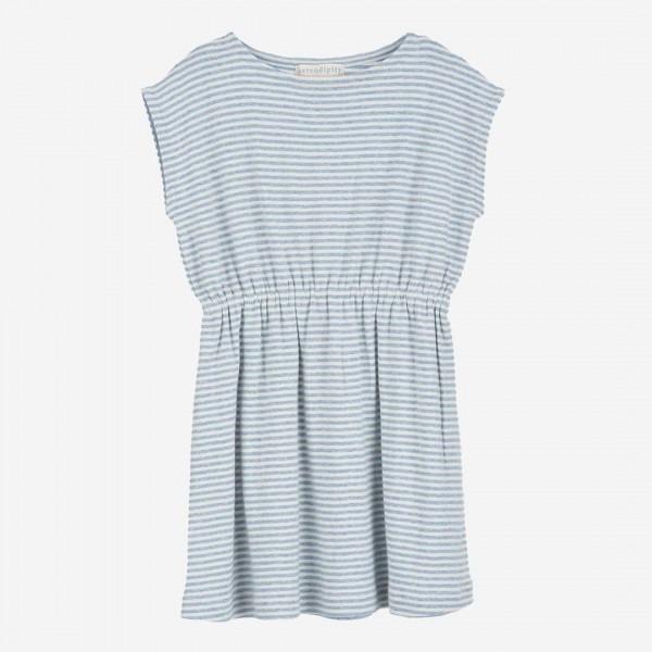 Beach Dress Stripe lightblue