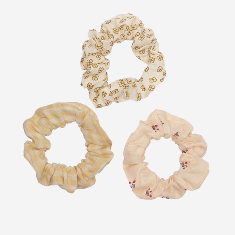 Scrunchies von Konges Sløjd aus Bio-Baumwolle