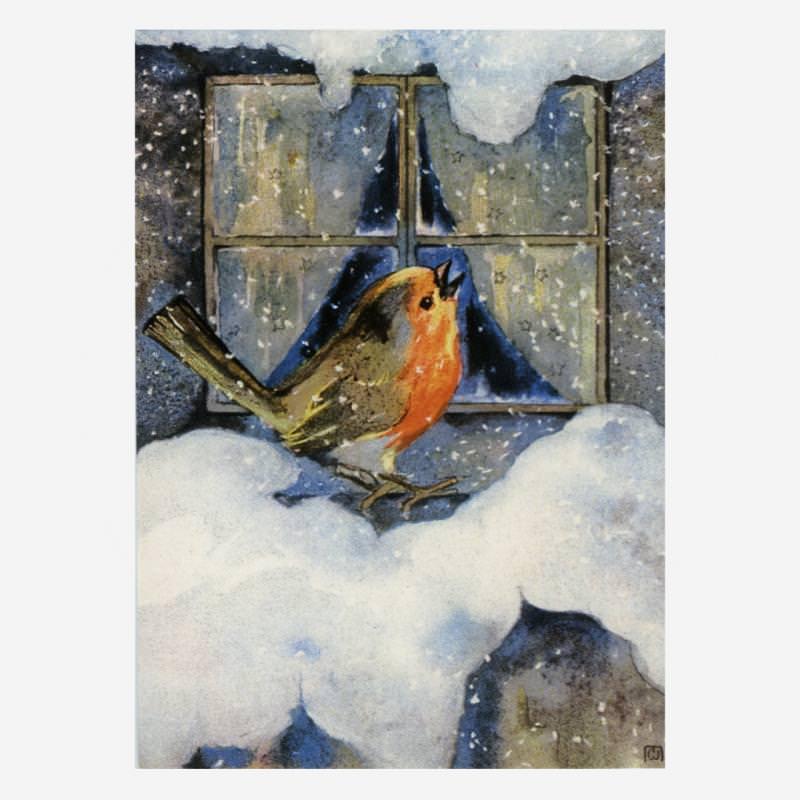 Rotkehlchen im Winter (M. Weber)