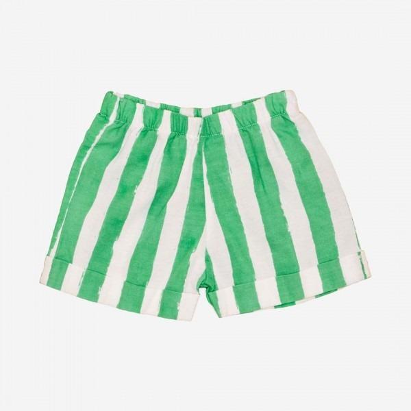 Baby Short green stripes
