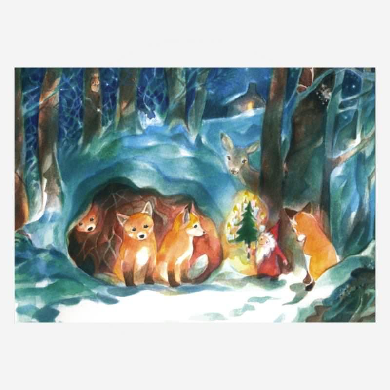 Weihnachten im Wald (M. Viriot)