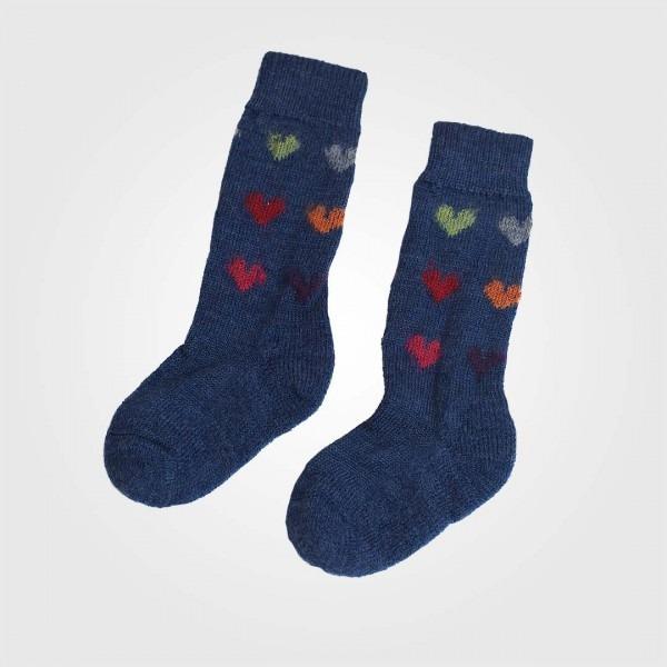 Socke Wolle Herzen