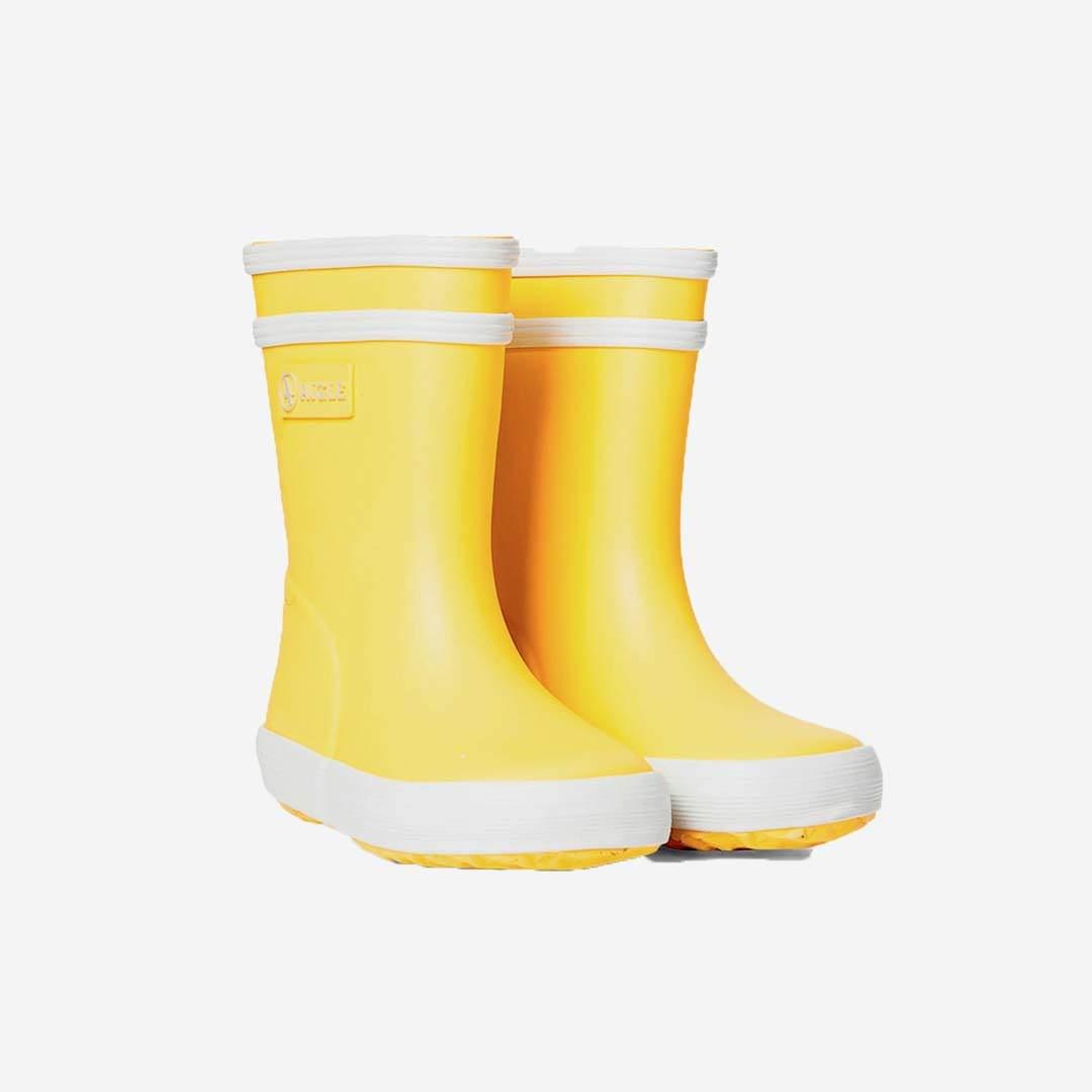 sale retailer fee97 1a552 BABY FLAC Gummistiefel jaune