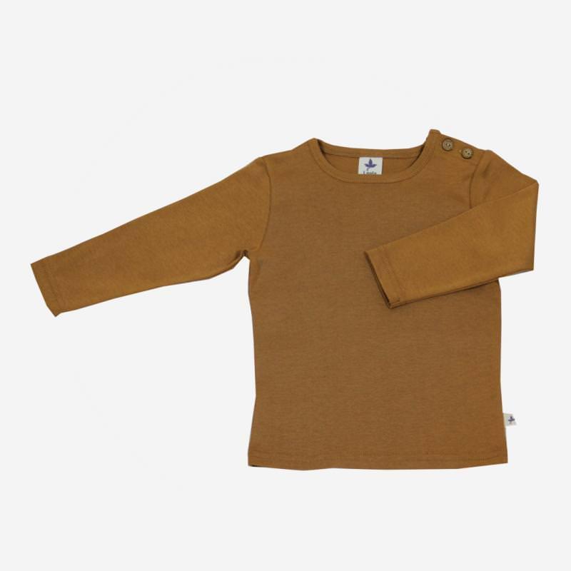 Shirt Baumwolle ingwer