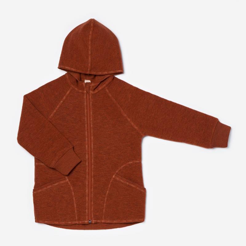 Walk-Jacke mit Kapuze magma melange