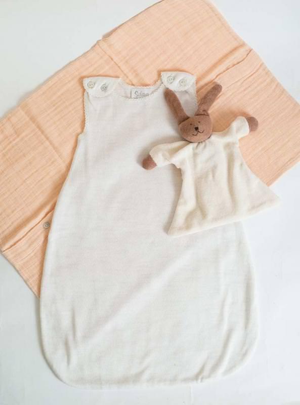 Schlafsack Baumwolle/Kaschmir